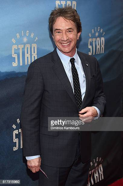 Actor Martin Short attends Bright Star Opening Night on Broadway at The Cort Theatre on March 24 2016 in New York City
