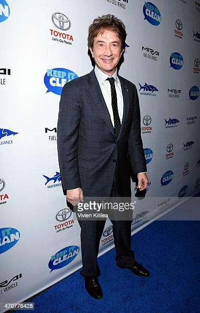 Actor Martin Short attends Keep It Clean To Benefit Waterkeeper Alliance Live Earth Day Comedy Benefit on April 22 2015 in Los Angeles California