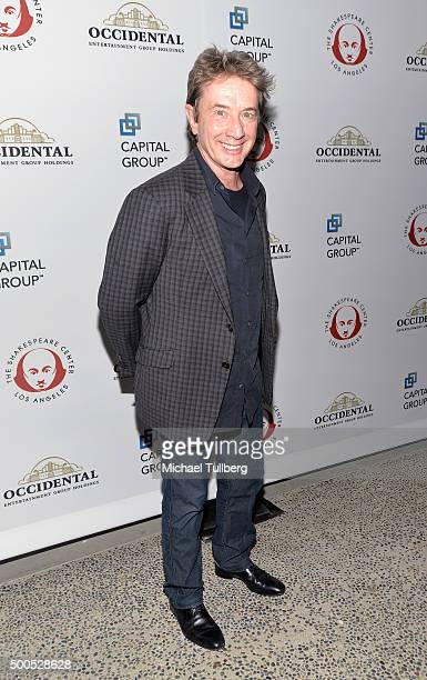 Actor Martin Short attends the 25th Annual Simply Shakespeare Benefit for the Shakespeare Center of Los Angeles at The Broad Stage on December 8 2015...