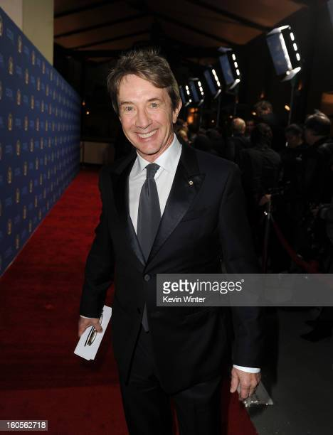Actor Martin Short attends the 65th Annual Directors Guild Of America Awards at Ray Dolby Ballroom at Hollywood Highland on February 2 2013 in Los...