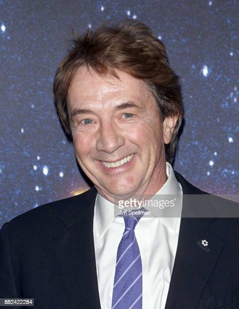 Actor Martin Short attends the Meteor Shower Broadway opening night at the Booth Theatre on November 29 2017 in New York City