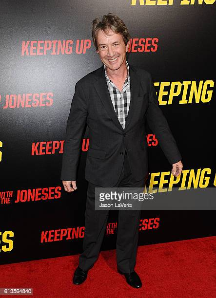 Actor Martin Short attends the premiere of Keeping Up with the Joneses at Fox Studios on October 8 2016 in Los Angeles California