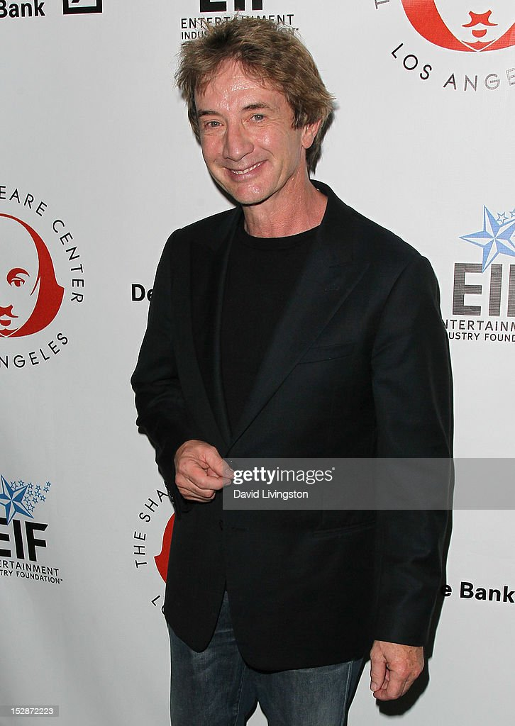 Actor Martin Short attends the Shakespeare Center of Los Angeles' 22nd Annual 'Simply Shakespeare' at the Freud Playhouse, UCLA on September 27, 2012 in Westwood, California.