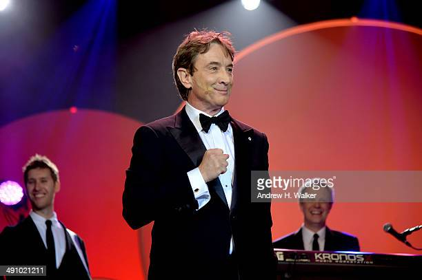 Actor Martin Short performs at the 2014 Toys R Us Children's Fund Gala at the New York Marriott Marquis on May 15 2014 in New York City