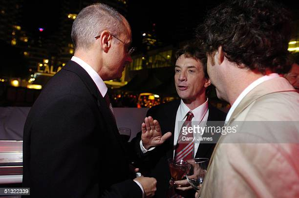 """Actor Martin Short, producer Paul Brooks and director Vadim Jean attend the """"Lalawood"""" after party and festival closer during the 29th Annual Toronto..."""