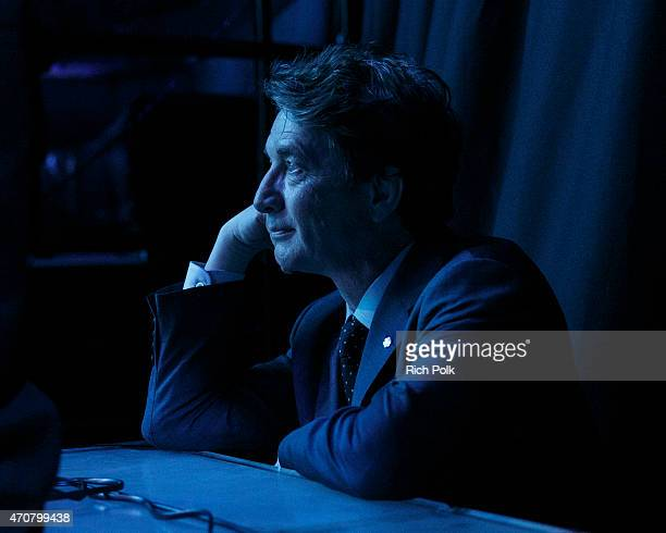 Actor Martin Short watches the show from the wings at the Keep It Clean To Benefit Waterkeeper Alliance Live Earth Day Comedy Benefit on April 22...