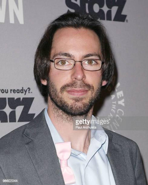 Actor Martin Starr arrives for the Paley Center for Media presentation of Party at The Paley Center for Media on April 21 2010 in Beverly Hills...