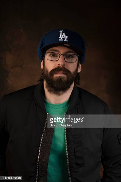 Actor Martin Starr from 'Honey Boy' is photographed for Los Angeles Times on January 25 2019 at the 2019 Sundance Film Festival in Salt Lake City...