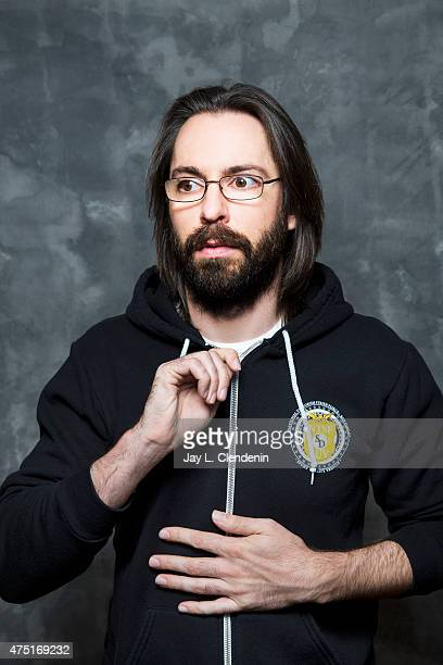 Actor Martin Starr is photographed for Los Angeles Times on May 6 2015 in Los Angeles California PUBLISHED IMAGE CREDIT MUST READ Jay L Clendenin/Los...