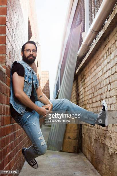 Actor Martin Starr is photographed for The Wrap on April 9 2017 in Los Angeles California