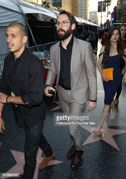 Actor Martin Starr is seen on April 19 2017 in Los Angeles California