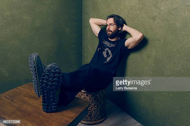Actor Martin Starr of I'll See You in My Dreams poses for a portrait at the Village at the Lift Presented by McDonald's McCafe during the 2015...
