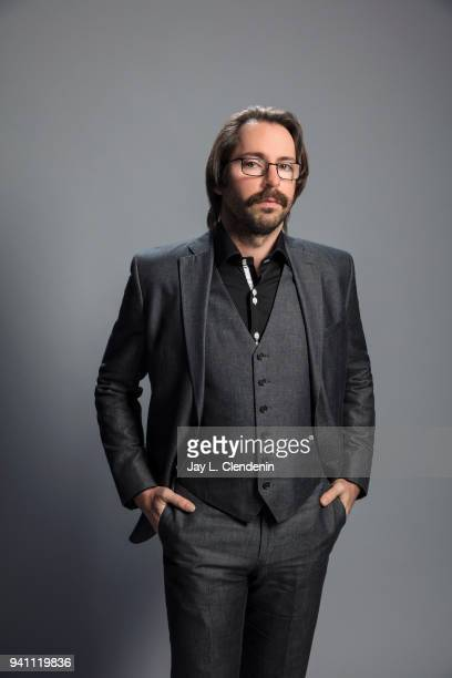 Actor Martin Starr of 'Silicon Valley' is photographed for Los Angeles Times on March 17 2018 at the PaleyFest at the Dolby Theatre in Hollywood...