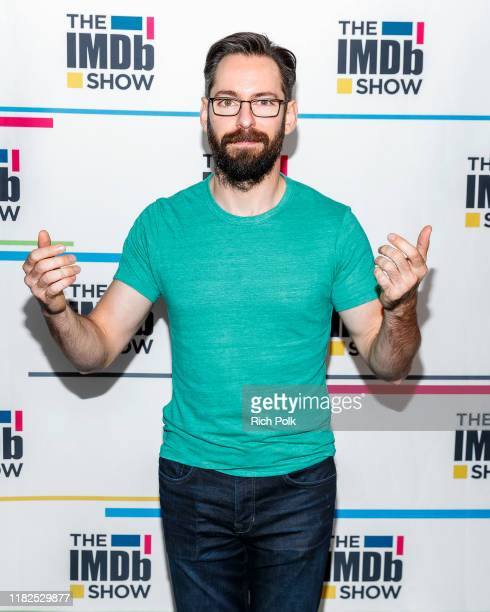 Actor Martin Starr visit's 'The IMDb Show' on October 15 2019 in Studio City California This episode of 'The IMDb Show' airs on October 24 2019