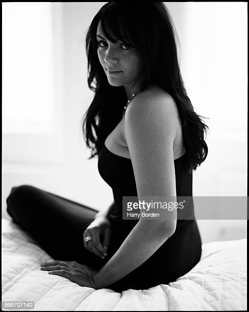 Actor Martine McCutcheon is photographed for the Mail on Sunday on September 3 2003 in London England