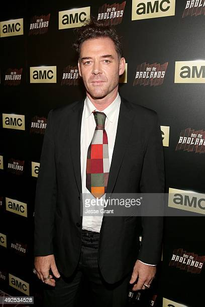 """Actor Marton Csokas attends AMC's """"Into The Badlands"""" Premiere on October 13, 2015 in West Hollywood, California."""