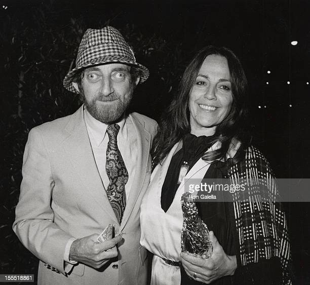Actor Marty Feldman and wife Lauretta Sullivan sighted on January 23 1981 at Le Dome Restaurant in West Hollywood California
