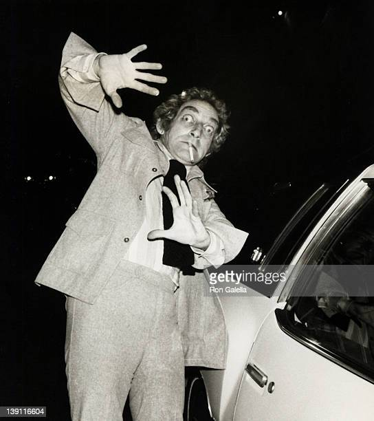 Actor Marty Feldman attends the birthday party for AnnMargret on May 3 1977 at Bistro Restaurant in Beverly Hills California