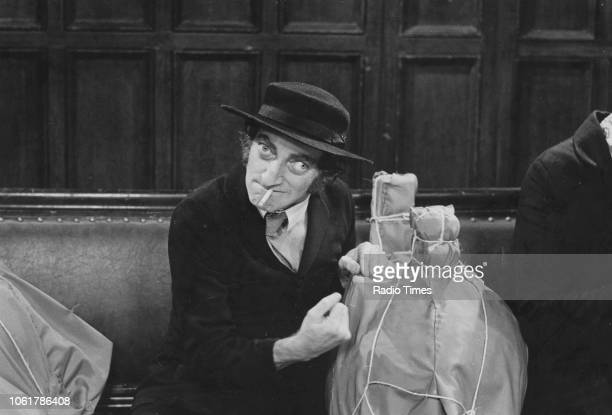 Actor Marty Feldman in a band scene from the television series 'A Speight of Marty' July 29th 1973