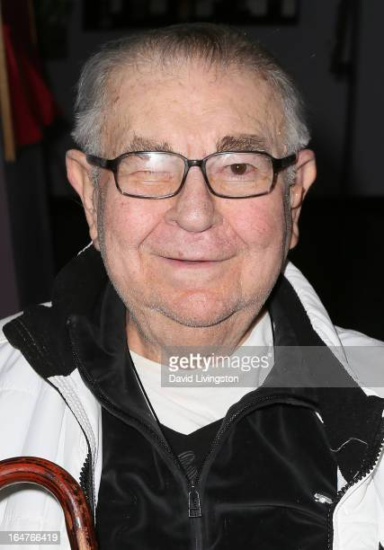 Actor Marvin Kaplan attends a surviving cast screening of Stanley Kramer's 'It's a Mad Mad Mad Mad World' at California State University Northridge...