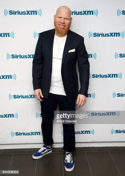 Actor Marvin 'Krondon' Jones III visits the SiriusXM Studios on April 10 2018 in New York City