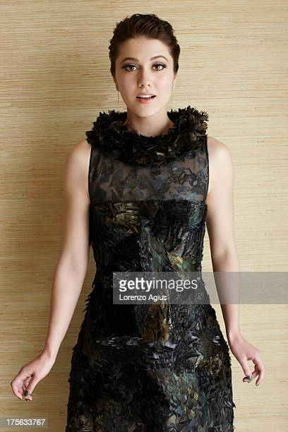 Actor Mary Elizabeth Winstead is photographed for Easy Living on April 19 2012 in Los Angeles California