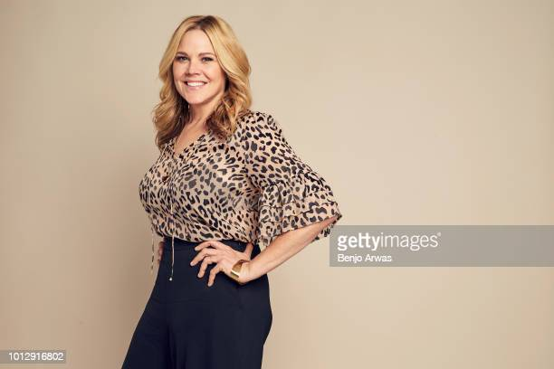 Actor Mary McCormack of ABC's 'The Kids Are Alright' poses for a portrait during the 2018 Summer Television Critics Association Press Tour at The...