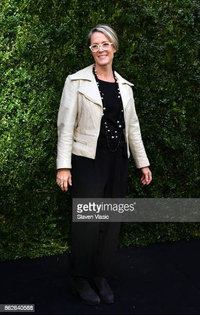 Actor Mary Stuart Masterson attends Through Her Lens The Tribeca Chanel Women's Filmmaker Program Luncheon at Locanda Verde on October 17 2017 in New...