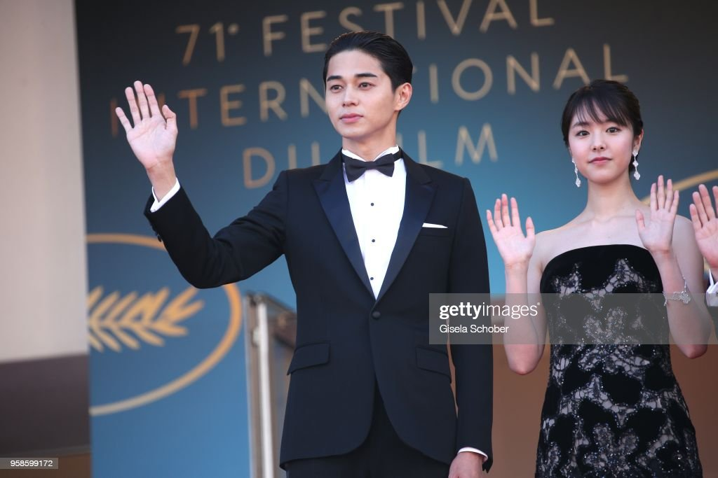 """""""Asako I & II (Netemo Sametemo)"""" Red Carpet Arrivals - The 71st Annual Cannes Film Festival : ニュース写真"""