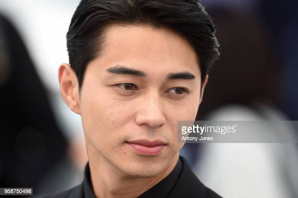 Actor Masahiro Higashide attends the photocall for Asako I II during the 71st annual Cannes Film Festival at Palais des Festivals on May 15 2018 in...