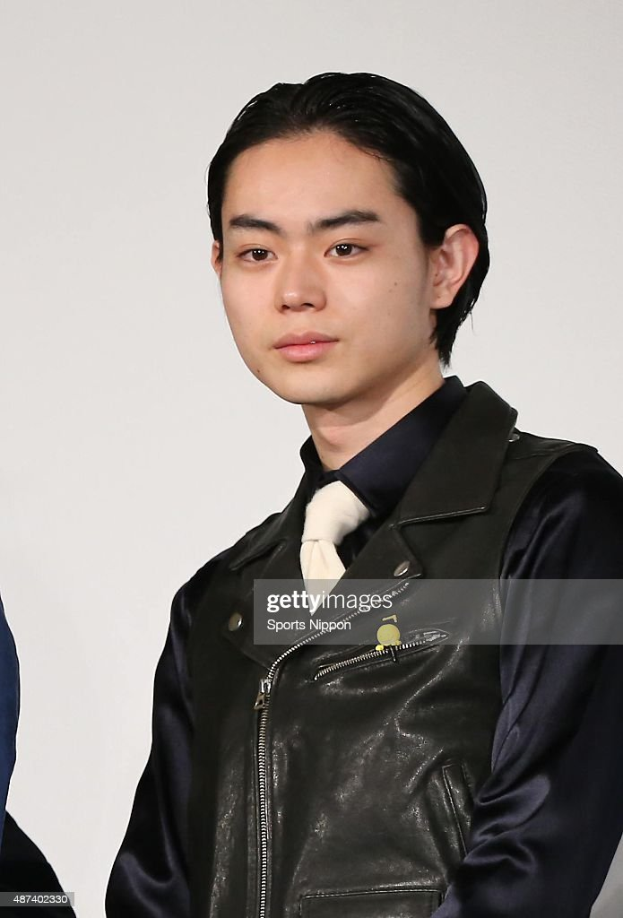 Masaki Suda attends Press Conference In Tokyo : News Photo