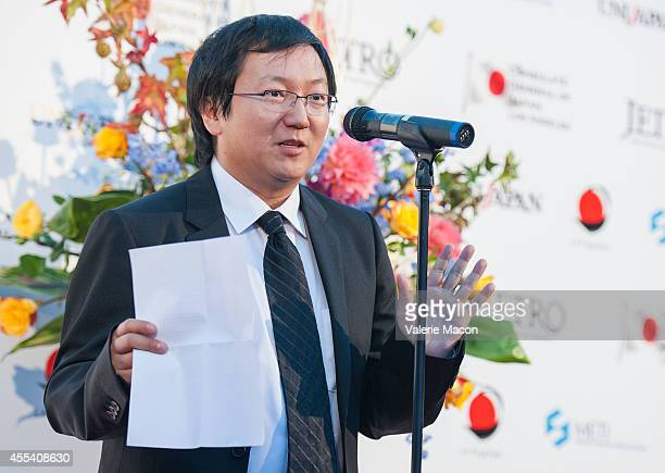 Actor Masi Oka attends the 2nd Annual Japan Cool Content Contribution Awards Ceremony on September 13 2014 in Los Angeles California