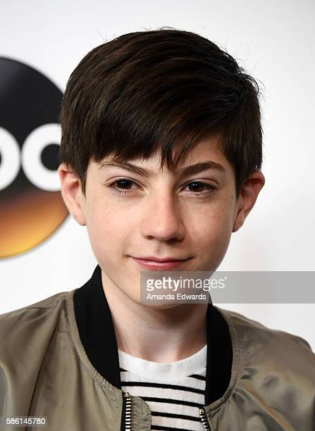 Actor Mason Cook attends the Disney ABC Television Group TCA Summer Press Tour on August 4 2016 in Beverly Hills California