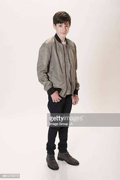 Actor Mason Cook poses for a portraits at the Beverly Hills Ballroom of The Beverly Hilton in Beverly Hills at Disney | ABC Television Group's...