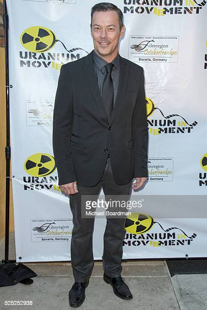 """Actor Massi Furlan attends """"The Man Who Saved The World"""" premiere during the Atomic Age Cinema Fest at Raleigh Studios on April 27, 2016 in Los..."""