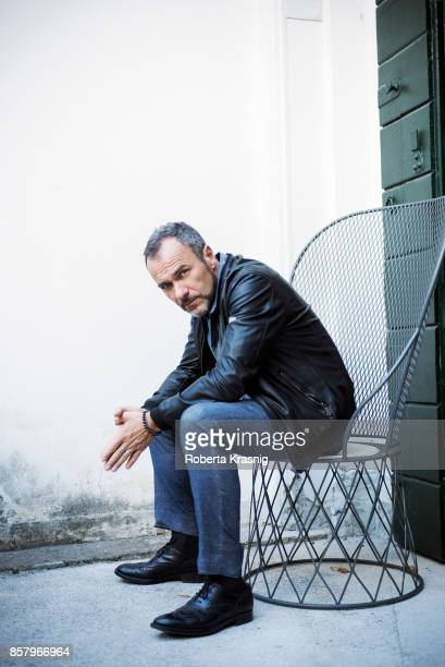 Actor Massimiliano Gallo is photographed on September 4 2017 in Venice Italy