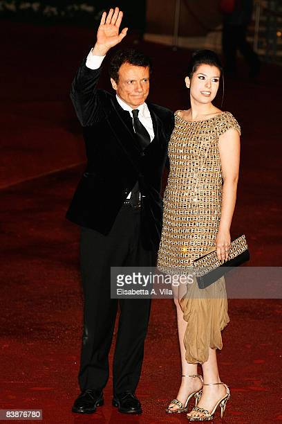 Actor Massimo Ranieri and Leyla Martinucci attends the Closing Ceremony during the 3rd Rome International Film Festival held at the Auditorium Parco...