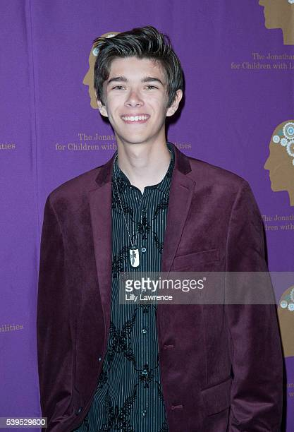 Actor Mateo Simon arrives at Jonathan Foundation's spring fundraiser at Marconi Automotive Museum on June 11 2016 in Tustin California