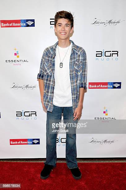 Actor Mateo Simon attends the album release party for Laura Michelle's Novel With No End at El Rey Theatre on September 1 2016 in Los Angeles...