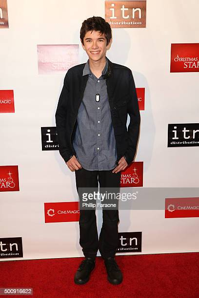 Actor Mateo Simon attends the premiere of Cinemagic and Signature Entertainment's A Christmas Star at TCL Chinese 6 Theatres on December 10 2015 in...