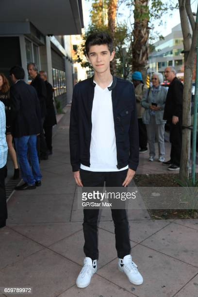 Actor Mateo Simon is seen on March 28 2017 in Los Angeles California