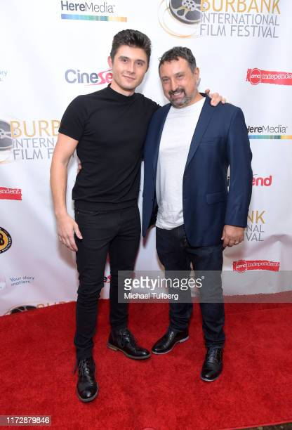 "Actor Mateus Ward and director Justin Ward attend the premiere of ""Relish"" at the Burbank International Film Festival at AMC Burbank 16 on September..."