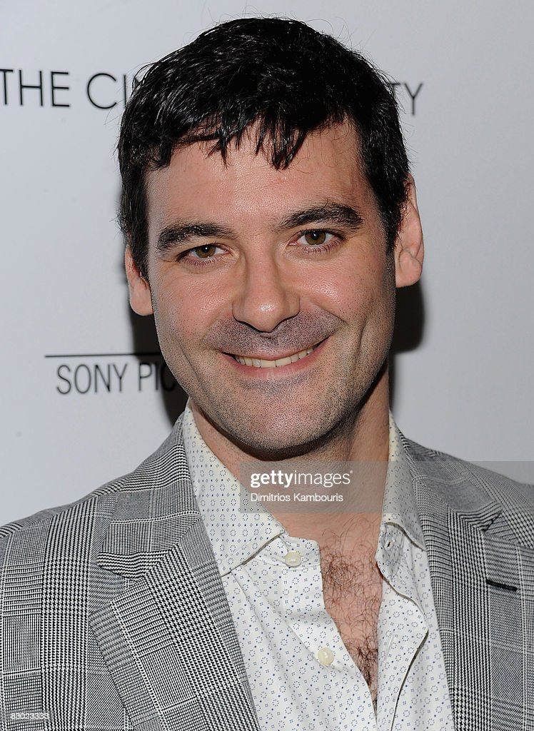 Actor Mather Zickel attends the Cinema Society and Lancome screening of 'Rachel Getting Married' at the Landmark Sunshine Theater on September 25, 2008 in New York City.
