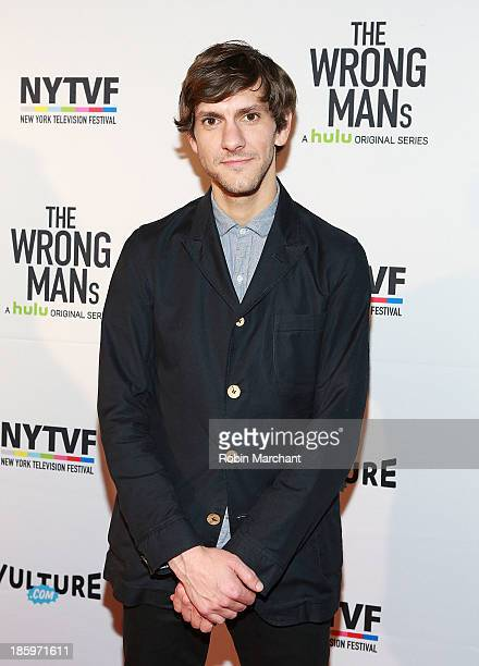 """Actor Mathew Baynton attends Hulu """"The Wrong Mans"""" Series Premiere at Tribeca Cinemas on October 26, 2013 in New York City."""