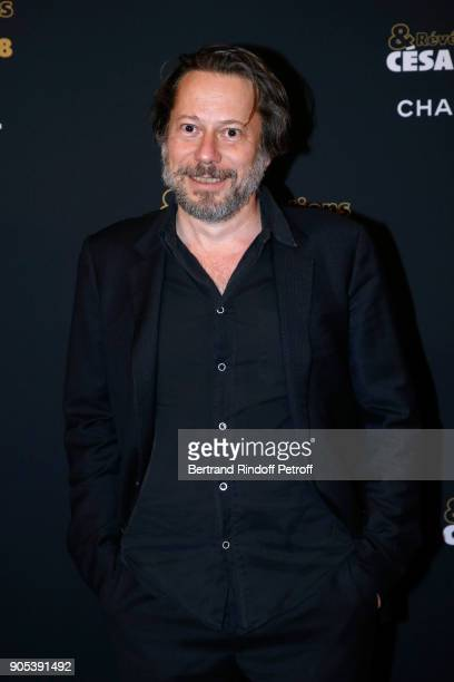 Actor Mathieu Amalric attends the 'Cesar Revelations 2018' Party at Le Petit Palais on January 15 2018 in Paris France