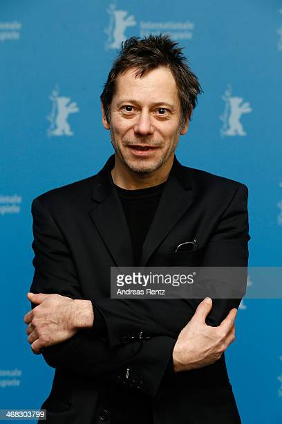 Actor Mathieu Amalric attends the 'If You Don't I Will' photocall during 64th Berlinale International Film Festival at Grand Hyatt Hotel on February...
