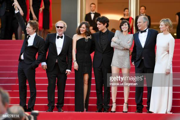 Actor Mathieu Amalric director Arnaud Desplechin actors Marion Cotillard Louis Garrel Charlotte Gainsbour Hippolyte Girardot and Alba Rohrwacher...