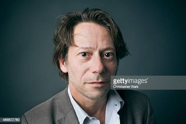 Actor Mathieu Amalric is photographed for The Globe and Mail on September 15 2015 in Toronto Ontario