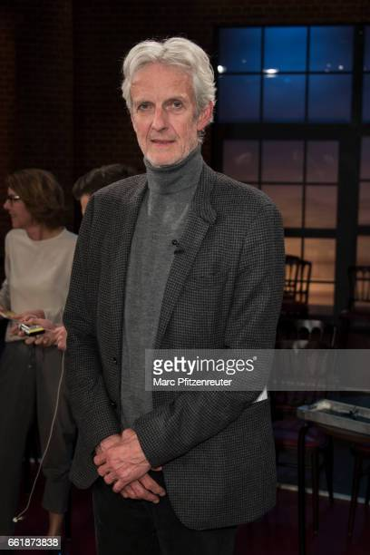 Actor Mathieu Carriere attends the 'Koelner Treff' TV Show at the WDR Studio on March 31 2017 in Cologne Germany