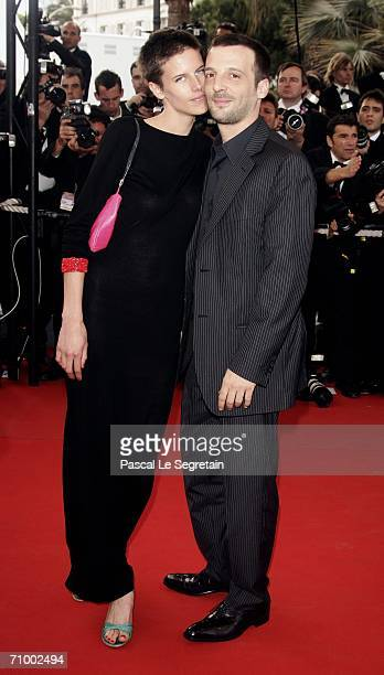 Actor Mathieu Kassovitz and wife costume designer Aurore Lagache attend the 'Over The Hedge' premiere at the Palais during the 59th International...